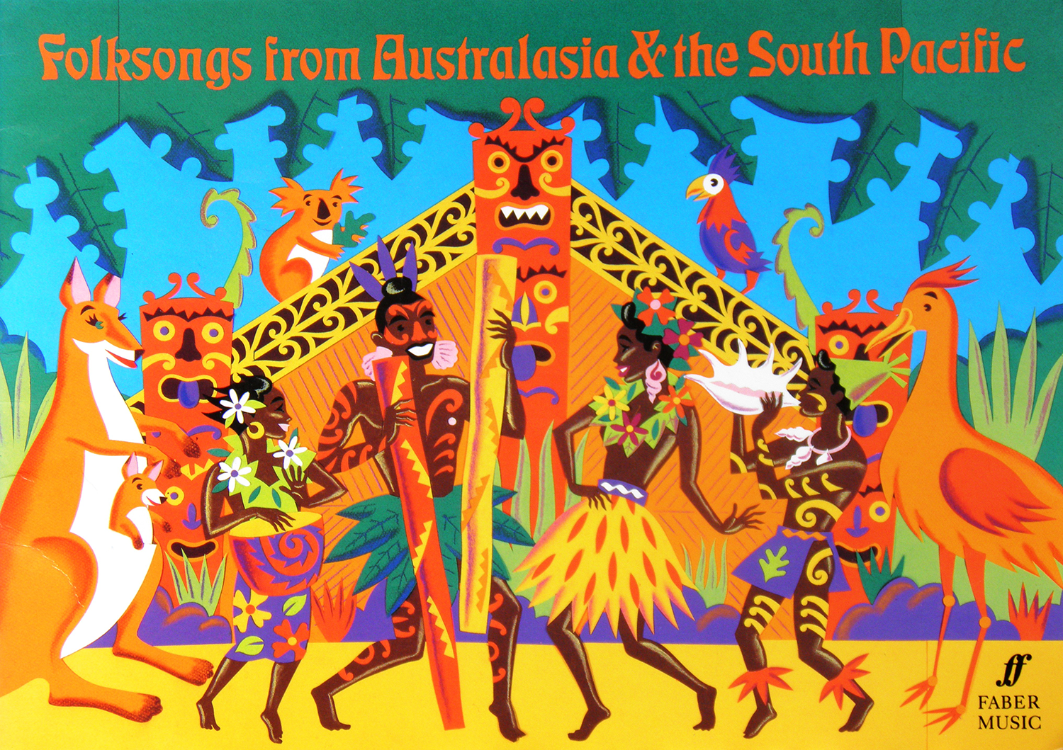 Folksongs from Aust and Sth Pacific