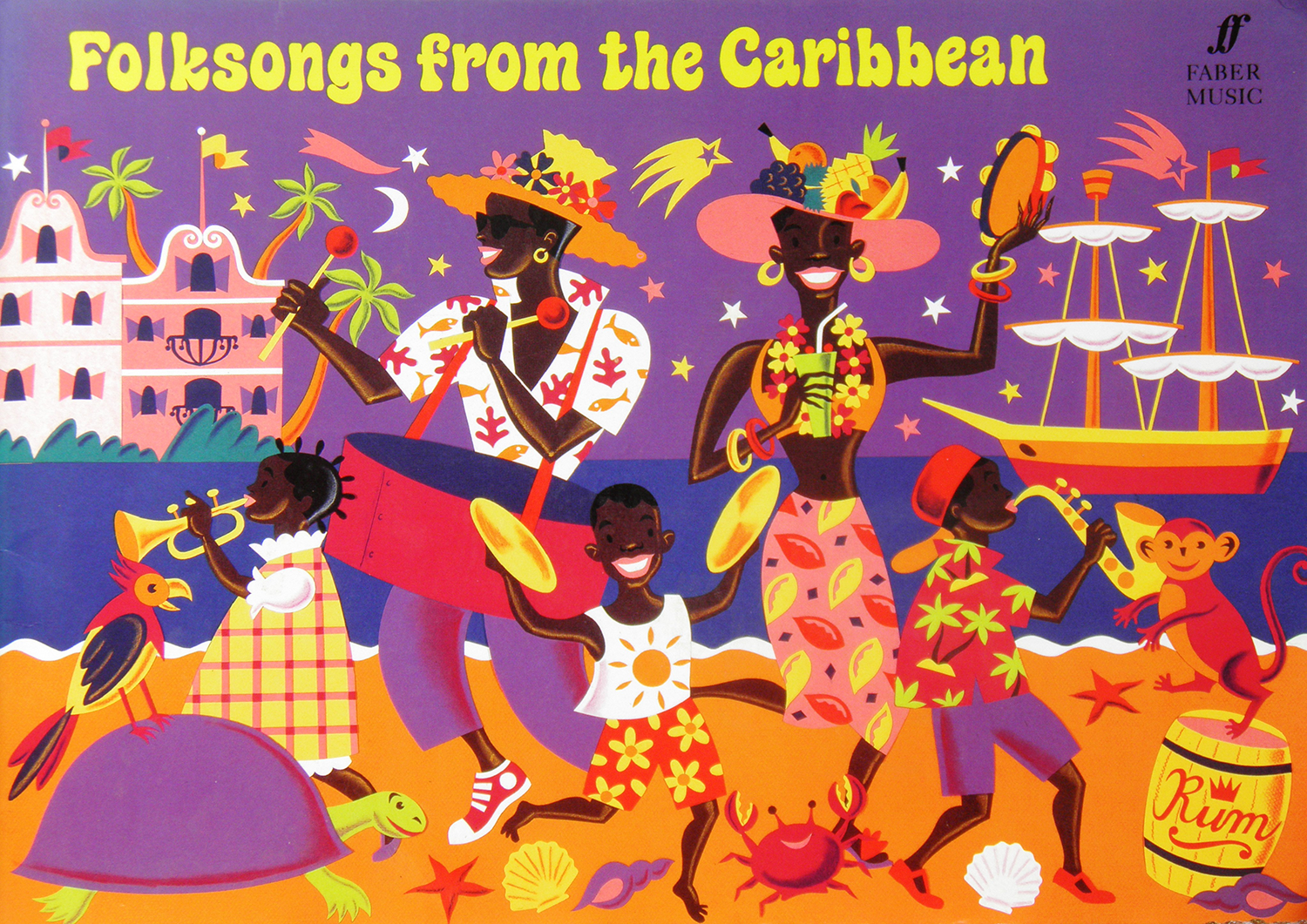 Folksongs from Caribbean